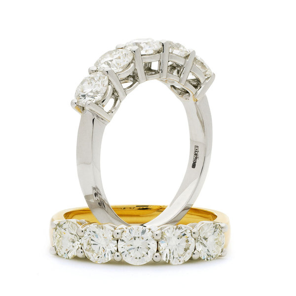 Five Diamond Ring  XYR6299 (1ct, 1.5ct, 2ct)