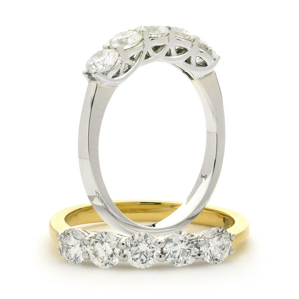 5 Diamond Ring XYR6744 (0.30ct - 3.00ct)