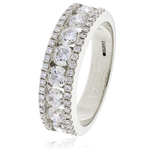 Diamond Dress Band BJR0269 (0.55ct - 2.00ct) 18W/Y/PLATINUM