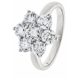 Classic Diamond Cluster Ring BJR0410 (0.50ct - 3.00ct)