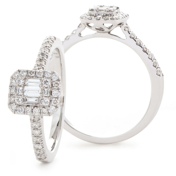 Cluster Diamond Ring SL7375