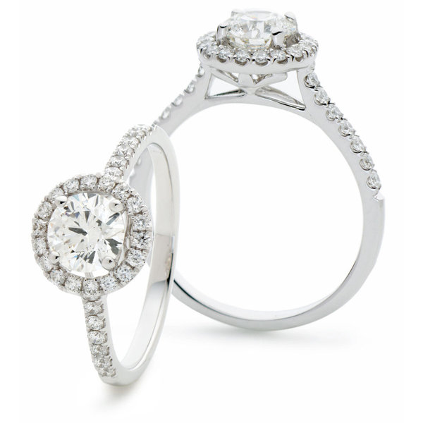 Diamond Halo Ring XYR9067 (0.65ct- 1.25ct)