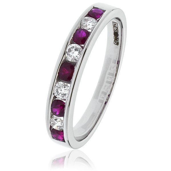 Diamond and Ruby Ring BJR131RU