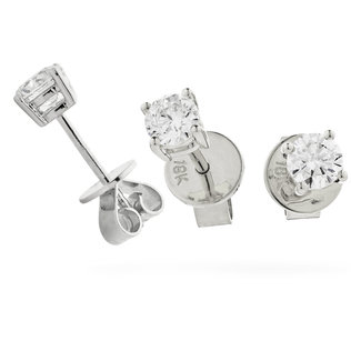 Diamond Solitaire Earrings XYE3263 (0.30ct-2.00ct)